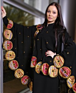 Abaya, over the top
