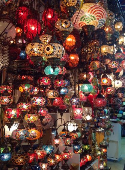 Lantern shop at the Grand Bazaar