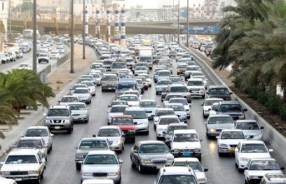 Riyadh traffic. Photo: Ministry of Interior