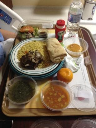 Saudi hospital lunch