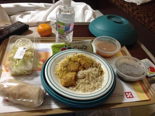 Saudi hospital dinner