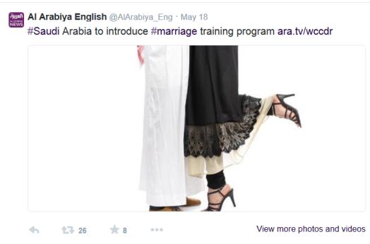 marriage training tweet