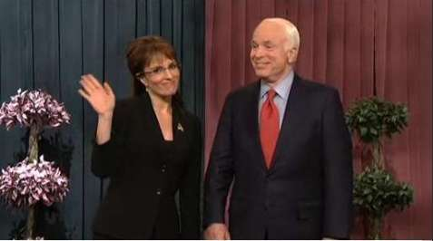 Tina Fey & John McCain on SNL