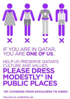 qatar dress code