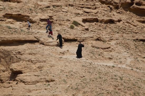 Edge of the World hike, Saudi Arabia