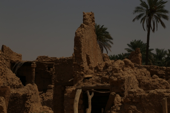 Ruins, north of Riyadh, Saudi Arabia