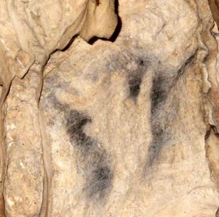 Ardales handprint