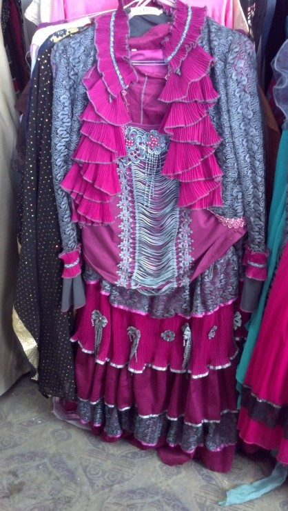 Second Hand Souk: Ruffled gown