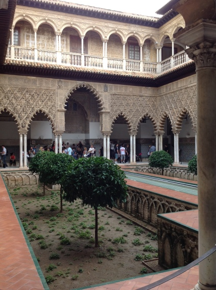 Courtyard of Maidens, Alcazar of Seville