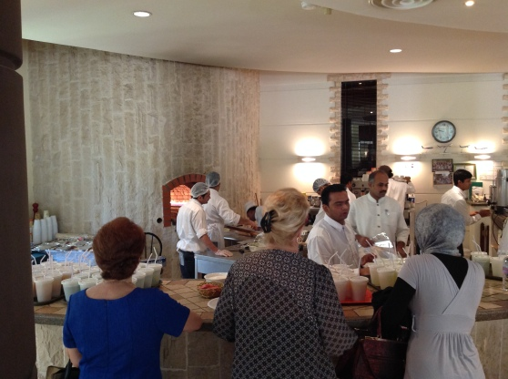 Kingdom Coffee Morning: The bread oven