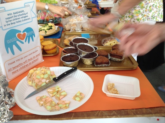 Bake 4 Hope bake sale at Kingdom Coffee Morning