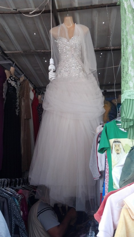 Second Hand Souk: Wedding dress