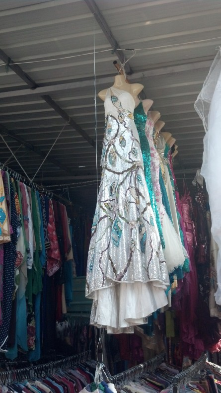 Second Hand Souk: Gown with vines