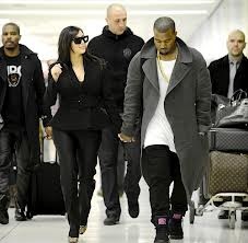 Kim Kardashian & Kanye West. Photo: kemi-online.com
