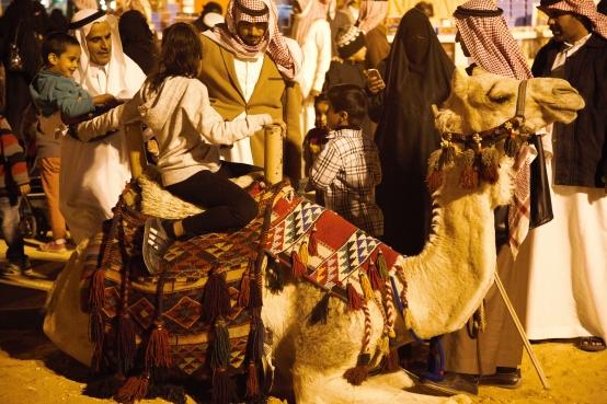 Janadriyah: camel rides