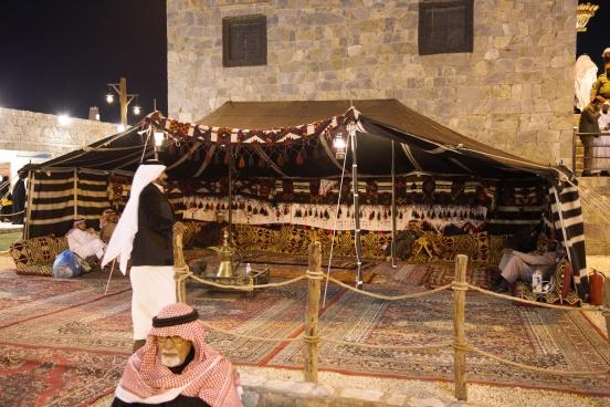 Janadriyah: Bedouin tent