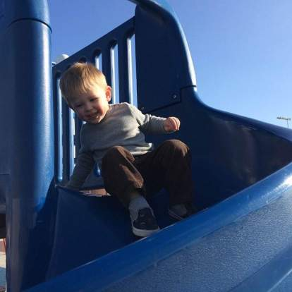 Grandson fun
