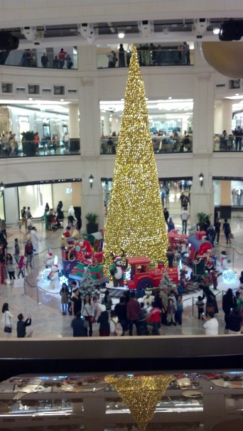Christmas at Mall of the Emirates, Dubai