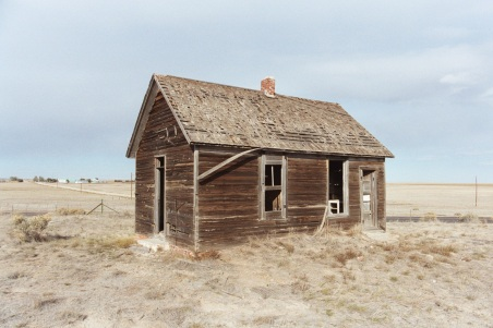 Abandoned house near Buckingham, Colorado