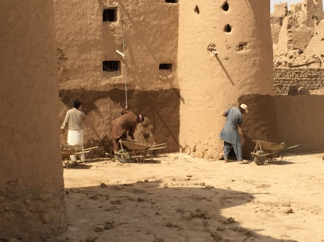 Maintenance, Raudat Sudair, Saudi Arabia