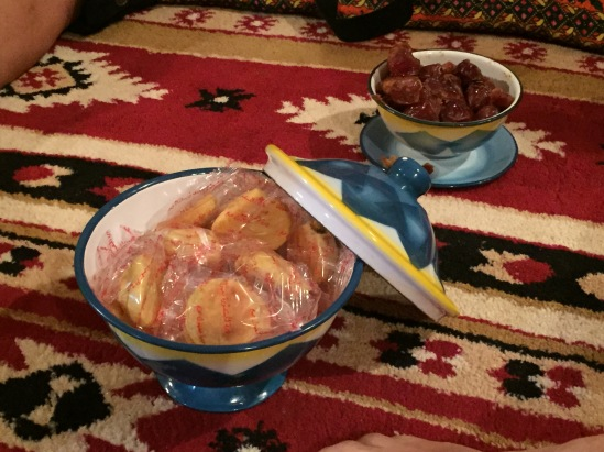 Dates and mamoul cookies