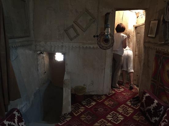 Traditional Arabian mud-brick home, interior