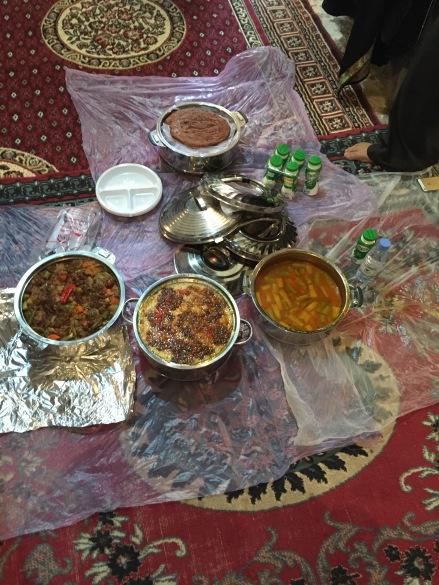 Arabian lunch