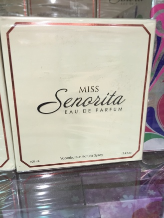 Miss Senorita eau de parfum