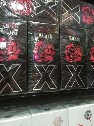 Black X cologne