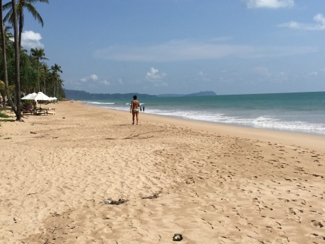 Beach at Khao Lak, Thailand