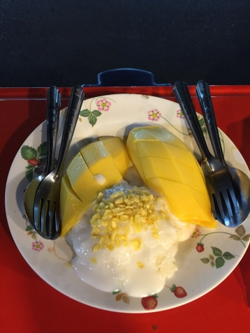Mango sticky rice, Bangkok