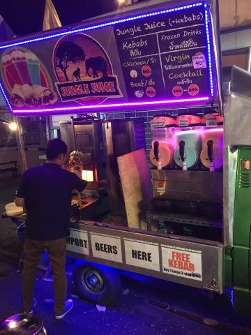 Kebab street food, Bangkok