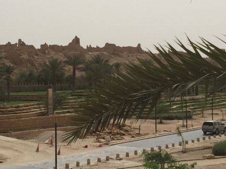 View of historic Diriyah