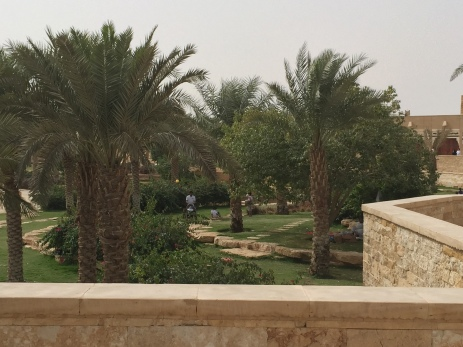 Picnicking at historic Diriyah