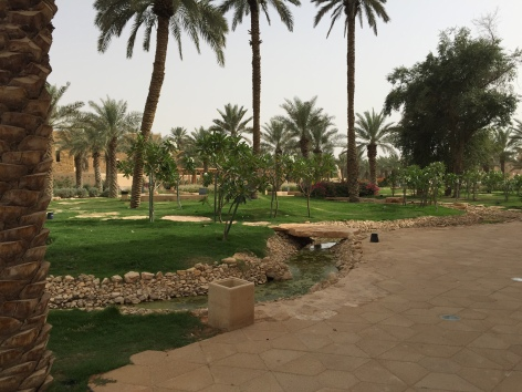 Park at historic Diriyah
