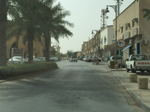 The modern Diriyah neighborhood