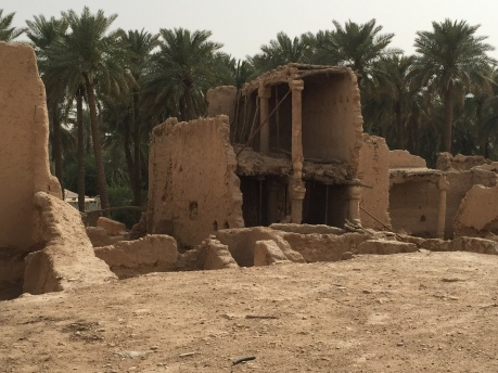 Ruins at Historic Diriyah, Riyadh