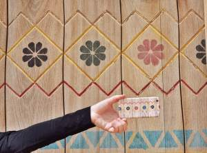 Phone cover/painted door spotting at Diriyah