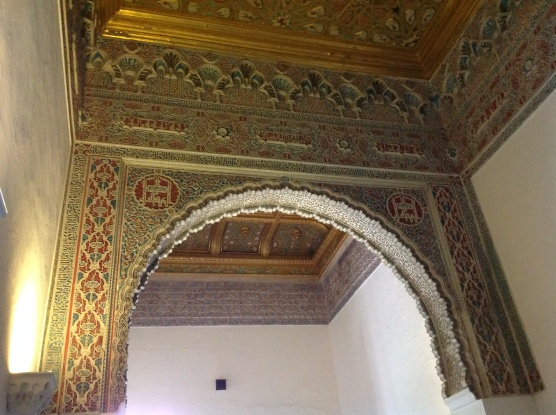 Arch at the Real Alcazar of Seville