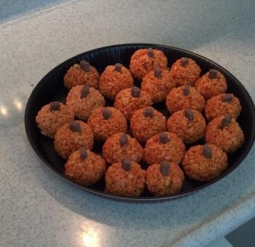 pumpkin krispy treats