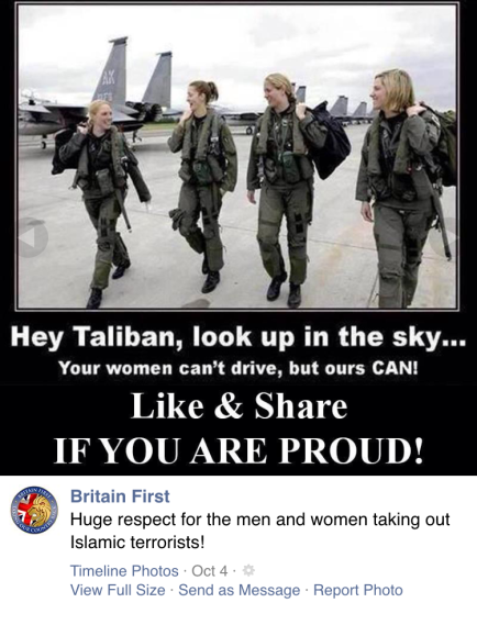 Britain First meme