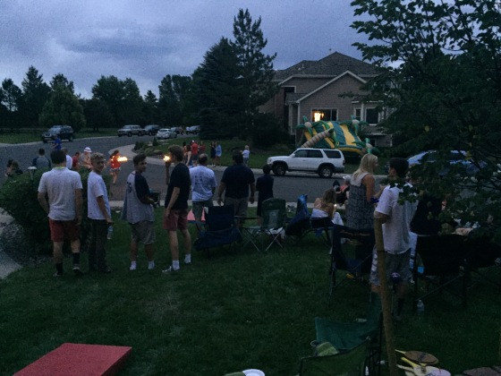 Neighborhood Fourth of July party